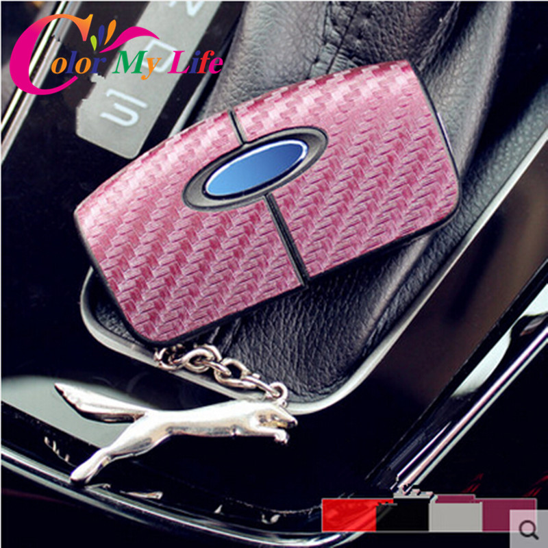 20 Pcs/Set Carbon Fiber Key sticker key cover case Ford Focus 2 2009-2012 New Fiesta Ecosport - Pozel Car Shopping Maill Store store