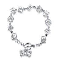 H070 925 Sterling Silver Fashion Bracelets