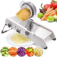 Adjustable Slicer Multi functional Vegetable Grater Shredder Slicer Cutter Set, kitchen Accessories