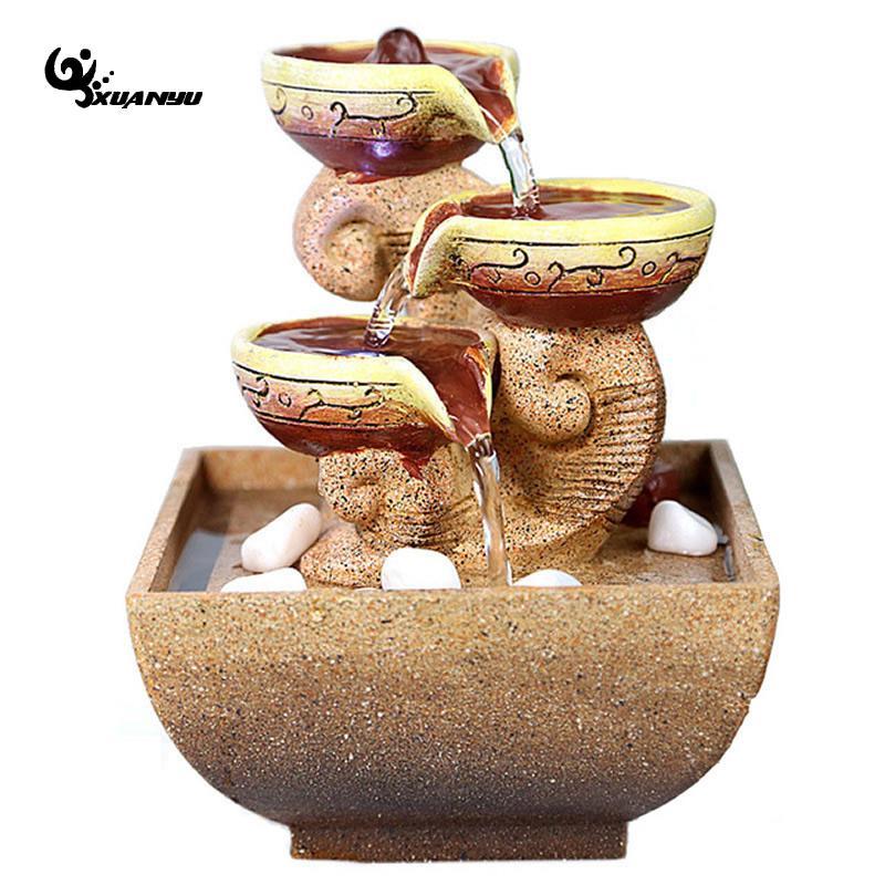 decorativas fuentes de agua interiores decoracin de escritorio de oficina regalo de piedras artesana