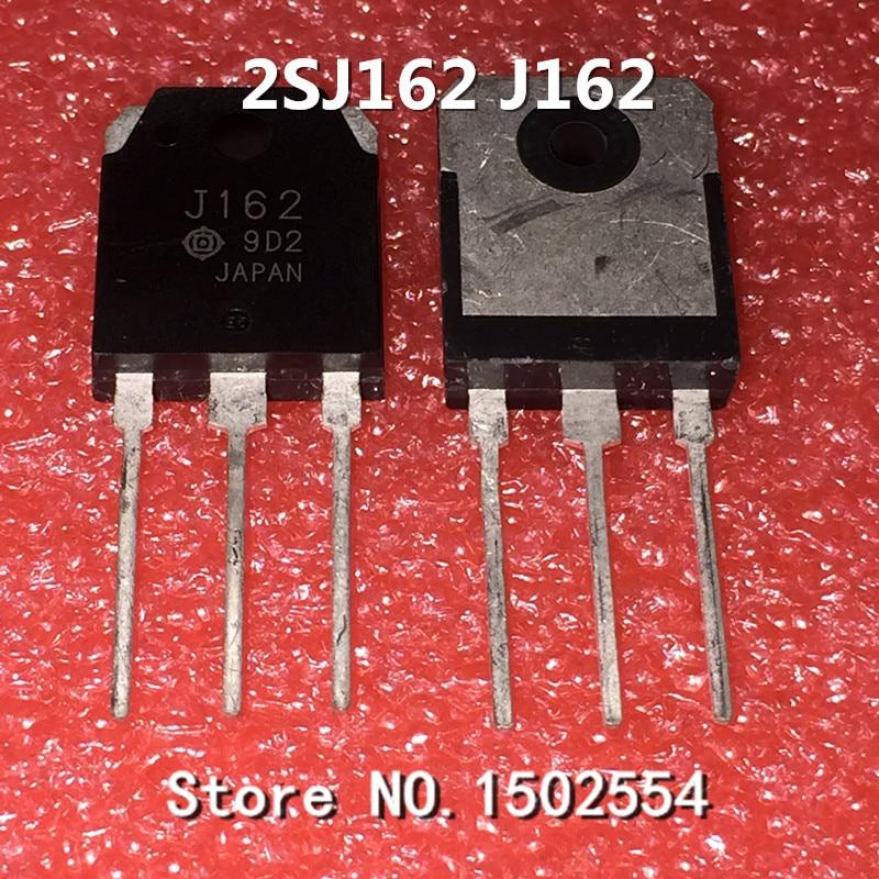10PCS/LOT 2SJ162 J162 TO-3P FET 7A160V P-Channel MOSFET