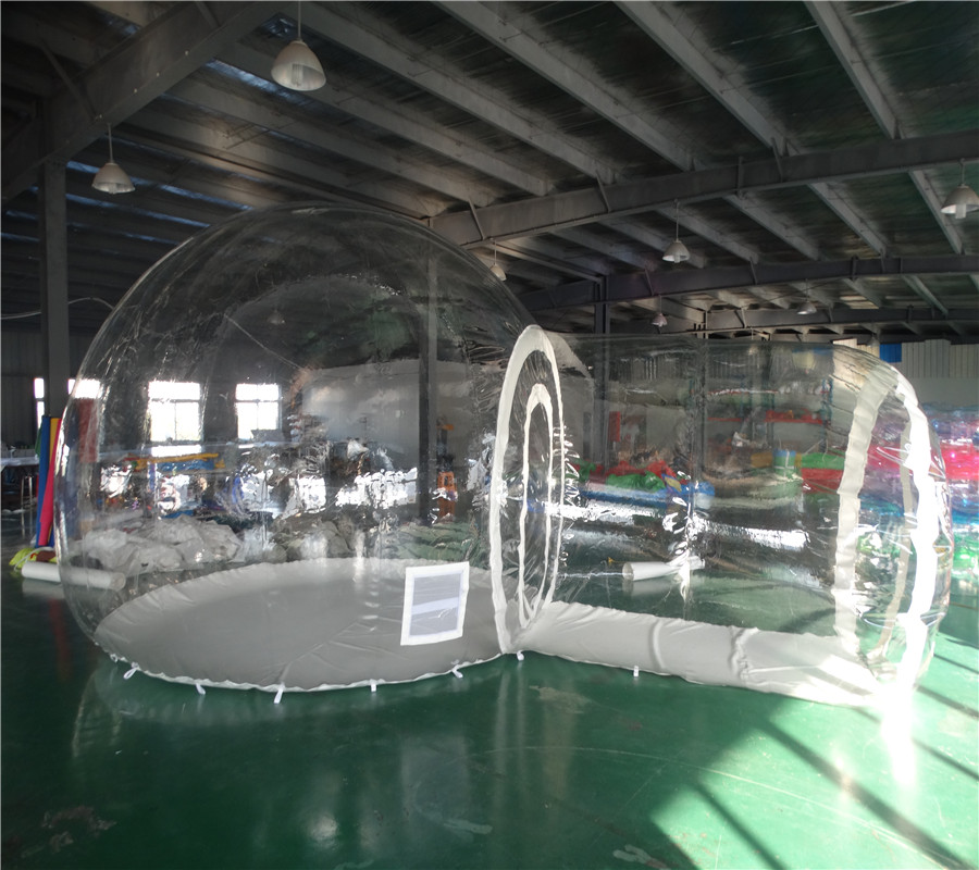 Customized clear infatable tent for kids and adults / inflatable dome tent inflatable bubble tent
