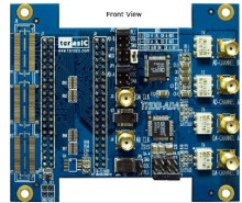 лучшая цена AD/DA module sub card THDB-ADA high speed data acquisition Match the DE2-115 DE0-NANO development board