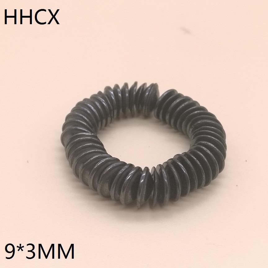 100 pcs/lot Y30 disque Ferrite aimant 9*3 mm aimant Permanent 9mm x 3mm noir rond haut-parleur aimant 9x3mm