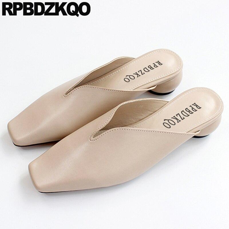 Cheap Sandals Low Heel Mules