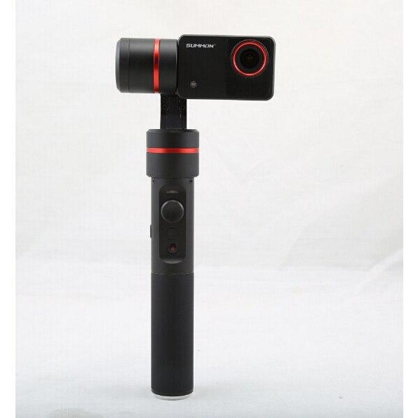 F18166 Feiyu Summon+ Summon Plus upgraded Handheld Gimbal Brushless Camera Stabilized with 4K 1080P Camera 2.0 Inch HD Display yuneec q500 typhoon quadcopter handheld cgo steadygrip gimbal black