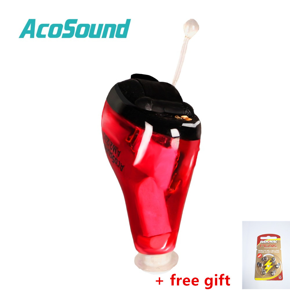 AcoSound 610IF programmable CIC Digital Hearing Aids Invisible 6 Channels Ear Aid Sound Amplifiers Hearing Amplifier