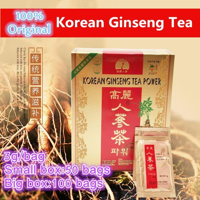 1-100bags,Energy Enhancer,South Korean Import,Original Korean Ginseng Tea Drink,Red Ginseng,Made in Korea,Fast free shipping