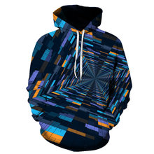 BIAOLUN Black/Blue Squares Long Sleeve 3d Printed Funny Men Hoodie Casual Autumn For Men/Women Tops Tee Brand Plus Size Clothes