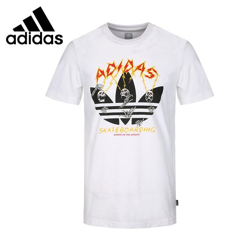 Original New Arrival 2018 Adidas Originals SHOCK TEE Men's T-shirts short sleeve Sportswear original new arrival 2018 adidas originals 3 str t shirt women s t shirts short sleeve sportswear
