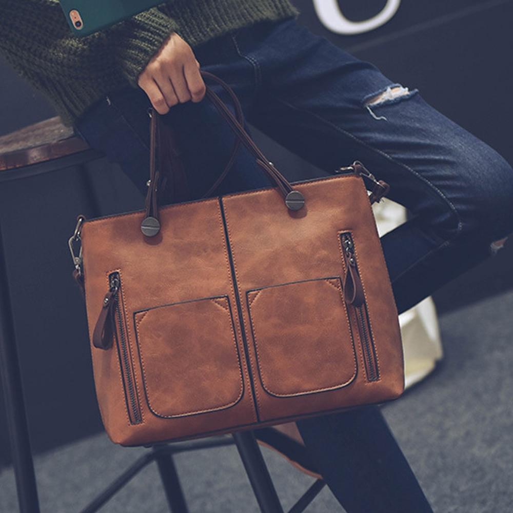Brand Luxury Handbags Women Bags Designer New Fashion Litchi handbags Casual Messenger Tote Large Capacity Shoulder Bag