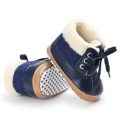 Обувь для младенцев Детские зимние штаны Сапоги и ботинки для девочек Обувь для мальчиков новорожденных Обувь для малышей супер