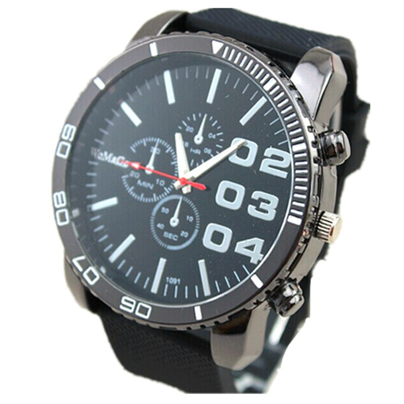 new design men sports big head watch silicone band precise quartz analog clock casual women fashion womage military wristwatches top brand unisex quartz sport watch men womage new rubber band quartz watch women fashion outdoor clock case oversize design uhr