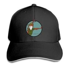 47d0c13ee20 Print Custom Baseball Cap Men Robin Hood Women Hat Peaked cap(China)