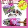 DIY Nail Stamping Printing Machine Polish Nail Art Set Manicure Set