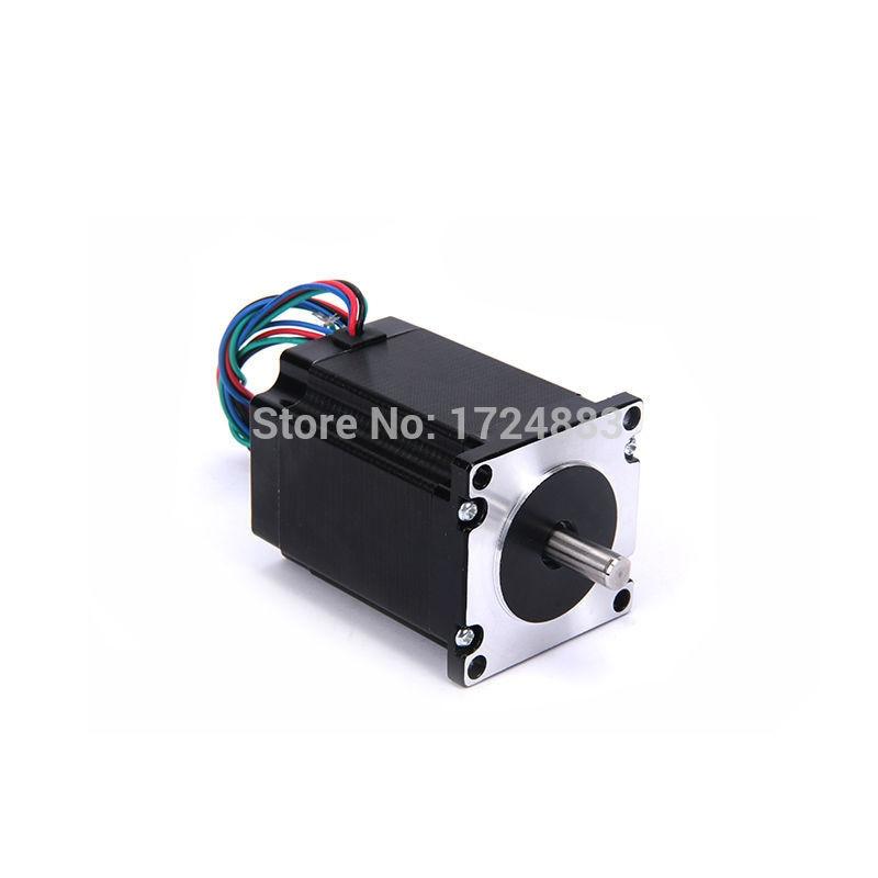 High torque 57 Motore Passo-passo 2 FASI-lead Nema23 motore 57BYGH34 75.5 MM 4.4A 2.3N.M A BASSO RUMORE (23HS3401) motore per CNC XYZ