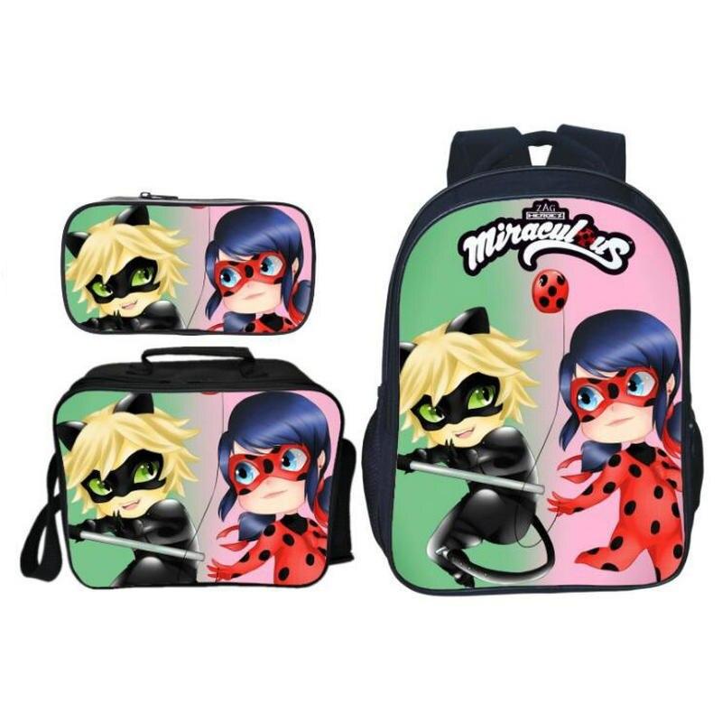 307489f8b7e5 16 Дюймов школьная сумка Супер Марио печати детские школьные сумки  комбинации Bookbag 3 шт./