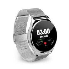 HW03 Dicke Schlanke Smart Uhr Herzfrequenz Monitor Runde Display Armbanduhr Smartwatch für iphone 5/6 6 s IOS für Android