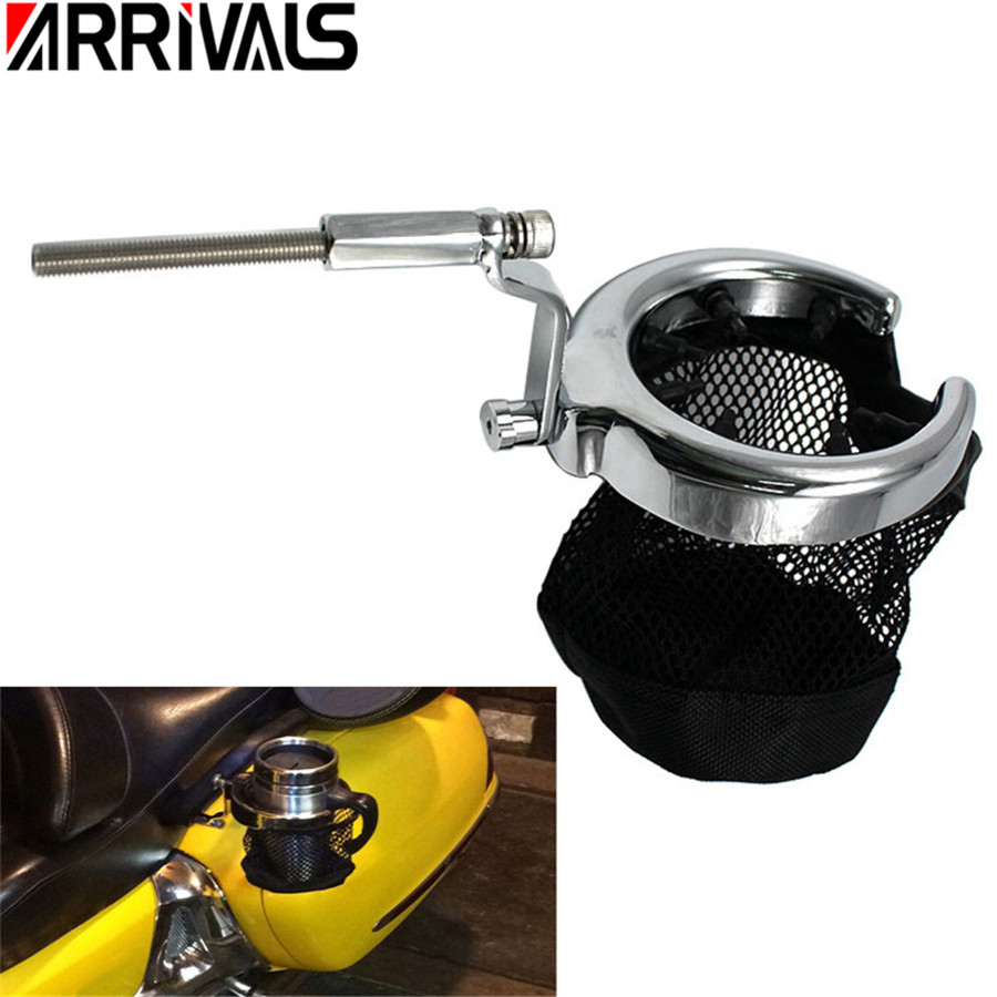 Motorcycle New Rear Passenger Drink Cup Holder For Honda Goldwing 1800 GL1800 ABS 2001-2015 F6B 2013-2015 Drinking Holder Cup