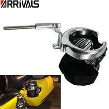 Universal Water Bottle Holder Motorcycle Bike Crash Bar Mount Drink Cup Bracket