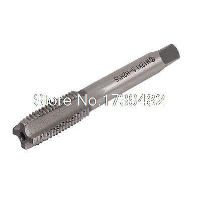M12 x 1.5 Straight 4 Flute Machine Screw Thread HSS Metric Plug Tap 20pcs m3 m12 screw thread metric plugs taps tap wrench die wrench set