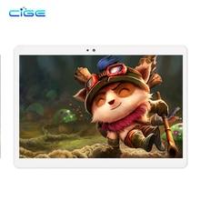 "Rusia Envío gratis Cige 10.1 Pulgadas Tabletas PC 3G 4G Lte Android Phablet Tab Pad 10 ""IPS Octa Core 4 GB RAM 64 GB ROM WIFI BT GPS"