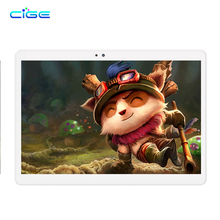 Russia Free shipping Cige 10.1 Inch Tablets PC 3G 4G Lte Android Phablet Tab Pad 10″ IPS Octa Core 4GB RAM 64GB ROM WIFI BT GPS