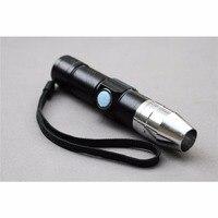Free Shipping USB Charger395 400NM 21 LED UV Blacklight Flashlight Ultra Violet Light Lamp Fly Tying