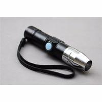Tigofly uv 365nmの防水usb充電式ブラックライト懐中電灯ウルトラバイオレットランプフライ抱き合わせのり硬化ライト