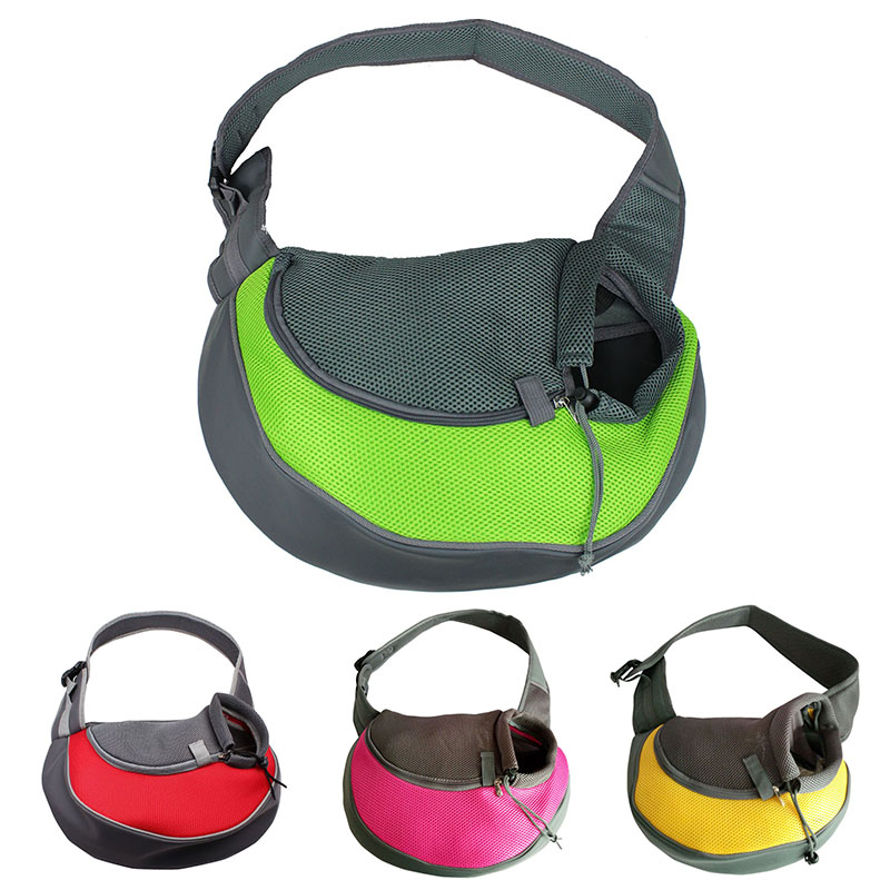 Pet Carrier Cat Puppy Small Animal Dog Carrier Sling Front Mesh Travel Tote Shoulder Bag Backpack Dog Accessories 2