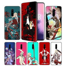 Angels of Death Anime Soft Black Silicone Case Cover for OnePlus 6 6T 7 Pro 5G Ultra-thin TPU Phone Back Protective