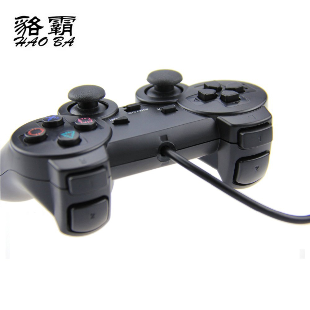 HAOBA 1.8M wired Dual Vibration Controller Gamepad for Sony Playstation 2 PS2 Controller Dualshock 2 Joystick Console