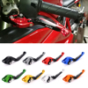 CNC Motorcycle Brakes Clutch Levers For Aprilia SHIVER 900 GT DORSODURO 900 750 2007 2010 2011