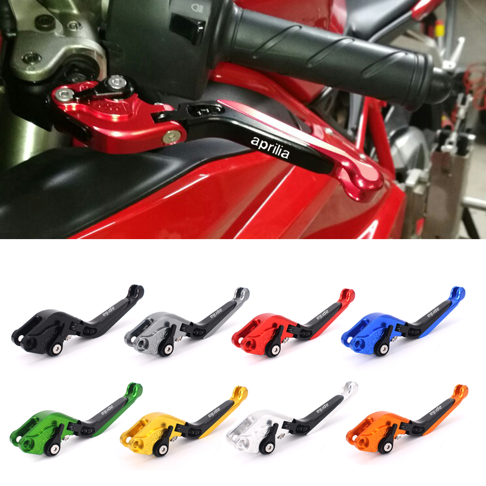 CNC Motorcycle Brakes Clutch Levers For Aprilia SHIVER 900/ GT DORSODURO 900/750 2007-2010 2011 2012 2013 2014 2015 2016 2017 cnc billet adjustable folding brake clutch levers for aprilia dorsoduro 750 factory shiver gt 750 07 14 08 09 10 11 12 2013