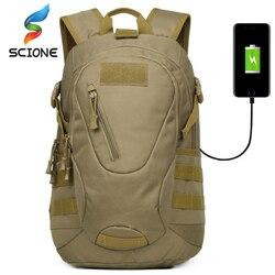 Na zewnątrz taktyczne wojskowe armii rozładunku plecak plecak myśliwski Molle górskie 30L zewnętrzny USB ładowania Cocuk Canta