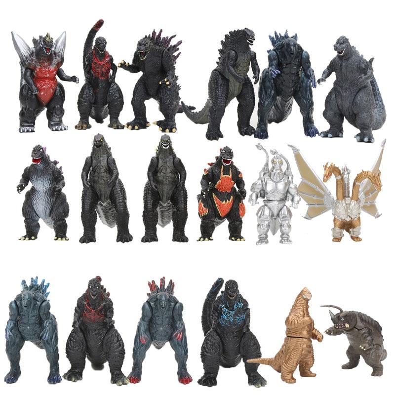 8cm Japan Anime Kaiju Action Figures 1/12 Scale Painted Figure Dinosaur PVC Figure Toys Brinquedos