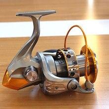 New! DC9000 10000 5.5:1 13BB Seamless Spinning Fishing Reel Carp Bass Sea Fishing Reel Fishing Tackle Free Shipping