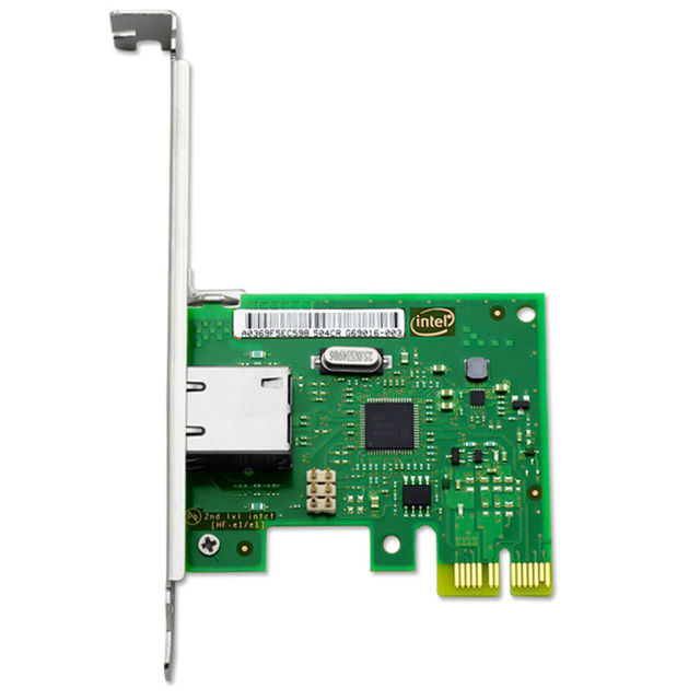 US $44 31 |Intel I210 Network Interface Card Single Port SFP NIC Card 1000M  COPPER-in Add On Cards from Computer & Office on Aliexpress com | Alibaba