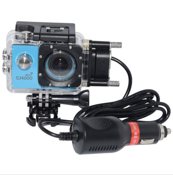 SJCAM SJ5000 SJ4000 WI FI Motorcycle Waterproof Case Motorbike Charger for SJ CAM SJ4000 5000 SJ5000X SJ5000 WIFI Action Camera