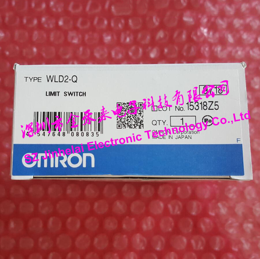 100%Authentic original WLD2-Q OMRON LIMIT SWITCH 2A 250VAC authentic original omron limit switch vb 2221