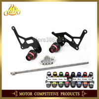 Frame Slider Crash Protector Bobbins Falling Protection Mortorcycle For Suzuki GSX R 1000 GSXR1000 2009 2016 2012 2011 2010 CNC