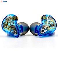 Pizen DIY custom dynamic in ear Earphone MMCX Interface for xiaomi mobile hybrid pro hd headpones headset