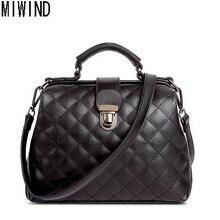 MIWIND Brand Women Handbags Designer Doctor Bag Fashion diagonal portable shoulder bag women messenger bags TCR296