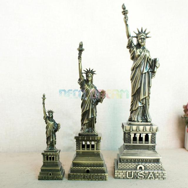 Deco Dream Vintage Home And Garden Decoration Metal Statue Of Liberty American Modern Style Craft As Good Hobby Gift For Familys 6