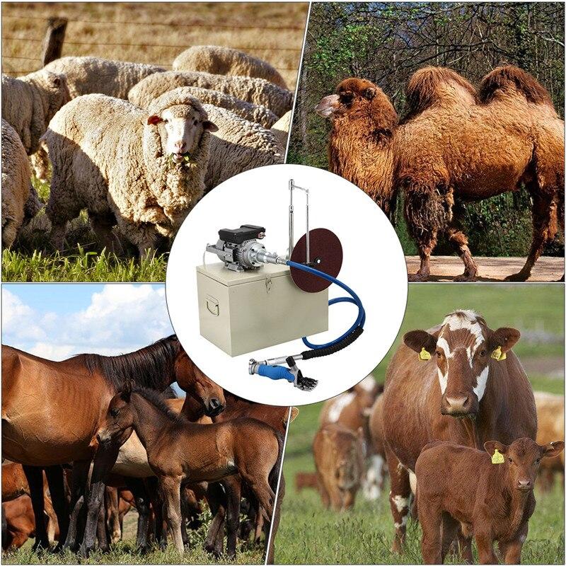 Высококачественная электрическая для стрижки овец, машинка для стрижки овец, ножницы, ножницы, машинка для стрижки козьей шерсти 110 В/220 В - 6