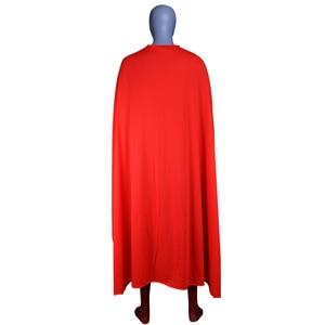 Image 2 - Мужской костюм супермена из стали для мальчиков, костюмы для косплея, колготки, комбинезоны, Костюмы супергероев для Хэллоуина, костюмы Супермена, накидка зентай