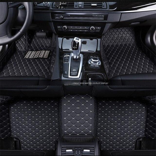 Car floor mats for Nissan altima Murano Sentra Sylphy versa sunny Note LIVINA 2017 2016 2015 2014 2013 2012 2011 2010 2009