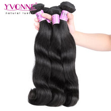 Top Quality Malaysian Virgin Hair Body Wave,100% Raw Human Hair Extension,2Pcs/lot Aliexpress Yvonne Hair,Natural Color