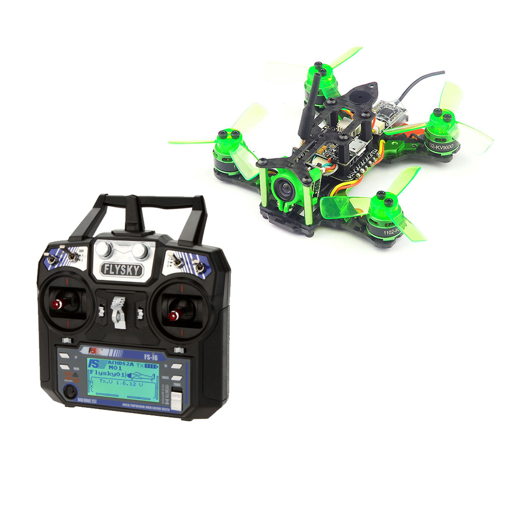 JMT Mantis 85 Micro FPV Racing Drone RTF With Flysky FS-i6 6CH 2.4G AFHDS 2A LCD Transmitter Radio System for RC Drone jmt kingkong et100 rtf brushless fpv rc racing drone with flysky fs i6 6ch 2 4g transmitter radio system mini quadcopter