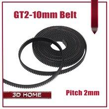 Горячие продажи 5 метров GT2-10mm открытых зубчатых пояса ширина 10 мм GT2 ремень GT2 10 мм